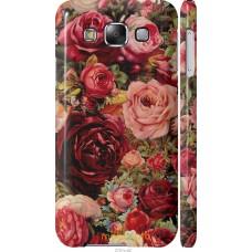 Чехол на Samsung Galaxy E5 E500H Прекрасные розы