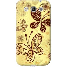 Чехол на Samsung Galaxy Win i8552 Рисованные бабочки