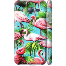 Чехол на Samsung Galaxy J3 Duos (2016) J320H Tropical backgr