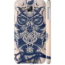 Чехол на Samsung Galaxy E5 E500H Сова Гера