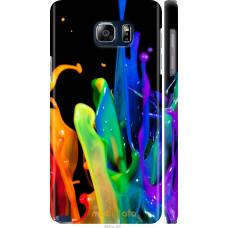 Чехол на Samsung Galaxy Note 5 N920C брызги краски
