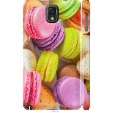 Чехол на Samsung Galaxy Note 3 N9000 Вкусные макаруны