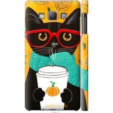 Чехол на Samsung Galaxy A7 A700H Осенний кот