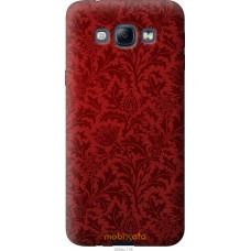 Чехол на Samsung Galaxy A8 A8000 Чехол цвета бордо