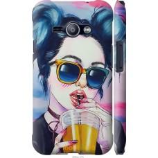 Чехол на Samsung Galaxy J1 Ace J110H Стильная девушка