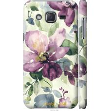 Чехол на Samsung Galaxy J2 J200H Акварель цветы