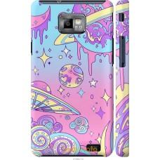 Чехол на Samsung Galaxy S2 i9100 'Розовый космос