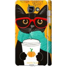 Чехол на Samsung Galaxy A7 (2016) A710F Осенний кот