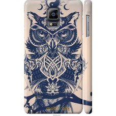 Чехол на Samsung Galaxy Note 4 N910H Сова Гера