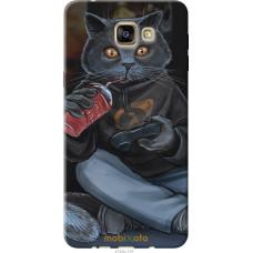 Чехол на Samsung Galaxy A9 A9000 gamer cat