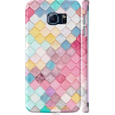 Чехол на Samsung Galaxy S6 Edge G925F Красочная черепица