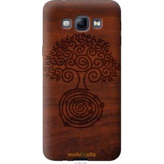 Чехол на Samsung Galaxy A8 A8000 Узор дерева