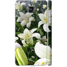 Чехол на Samsung Galaxy A7 (2016) A710F Лилии белые