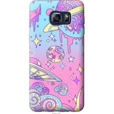 Чехол на Samsung Galaxy S6 Edge Plus G928 'Розовый космос