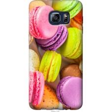 Чехол на Samsung Galaxy S6 Edge Plus G928 Вкусные макаруны