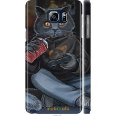 Чехол на Samsung Galaxy Note 5 N920C gamer cat