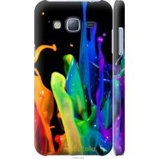 Чехол на Samsung Galaxy J3 Duos (2016) J320H брызги краски