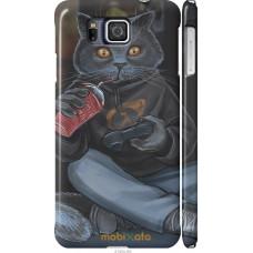 Чехол на Samsung Galaxy Alpha G850F gamer cat