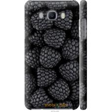 Чехол на Samsung Galaxy J7 (2016) J710F Черная ежевика