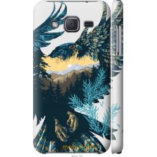 Чехол на Samsung Galaxy J2 J200H Арт-орел на фоне природы