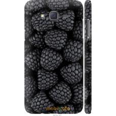 Чехол на Samsung Galaxy J7 J700H Черная ежевика