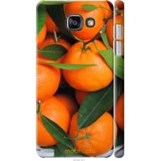 Чехол на Samsung Galaxy A7 (2016) A710F Мандарины
