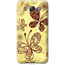 Чехол на Samsung Galaxy E7 E700H Рисованные бабочки
