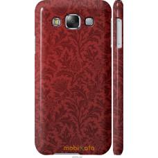 Чехол на Samsung Galaxy E5 E500H Чехол цвета бордо