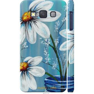 Чехол на Samsung Galaxy A3 A300H Красивые арт-ромашки