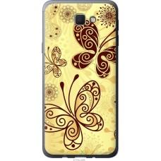 Чехол на Samsung Galaxy J5 Prime Рисованные бабочки