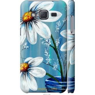 Чехол на Samsung Galaxy J2 J200H Красивые арт-ромашки