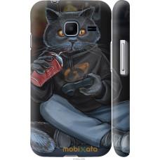 Чехол на Samsung Galaxy J1 Mini J105H gamer cat