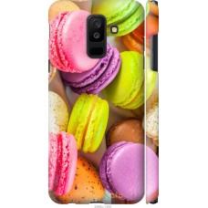 Чехол на Samsung Galaxy A6 Plus 2018 Вкусные макаруны