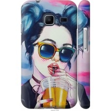 Чехол на Samsung Galaxy J1 Mini J105H Стильная девушка