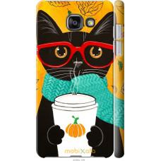 Чехол на Samsung Galaxy A5 (2016) A510F Осенний кот