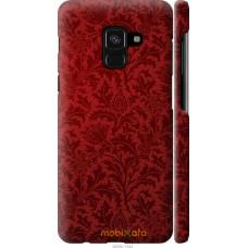 Чехол на Samsung Galaxy A8 2018 A530F Чехол цвета бордо