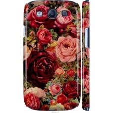 Чехол на Samsung Galaxy S3 Duos I9300i Прекрасные розы