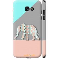 Чехол на Samsung Galaxy A7 (2017) Узорчатый слон