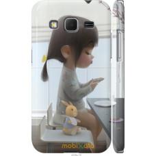 Чехол на Samsung Galaxy Core Prime G360H Милая девочка с зай