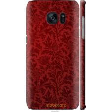 Чехол на Samsung Galaxy S7 Edge G935F Чехол цвета бордо