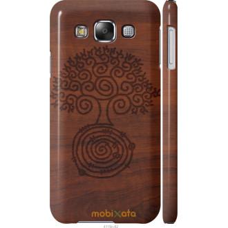 Чехол на Samsung Galaxy E5 E500H Узор дерева