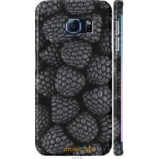 Чехол на Samsung Galaxy S6 Edge G925F Черная ежевика