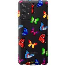 Чехол на Samsung Galaxy A52 Красочные мотыльки