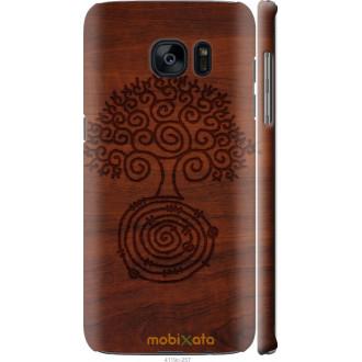 Чехол на Samsung Galaxy S7 Edge G935F Узор дерева