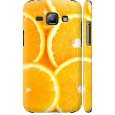 Чехол на Samsung Galaxy J1 J100H Апельсинки