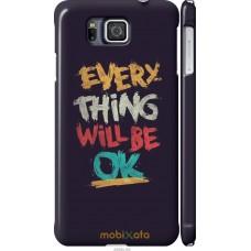 Чехол на Samsung Galaxy Alpha G850F Everything will be Ok
