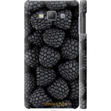 Чехол на Samsung Galaxy A7 A700H Черная ежевика