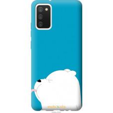 Чехол на Samsung Galaxy A02s A025F Мишка 1