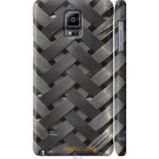 Чехол на Samsung Galaxy Note 4 N910H Металлические фоны