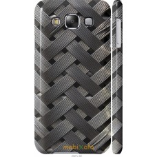 Чехол на Samsung Galaxy E5 E500H Металлические фоны
